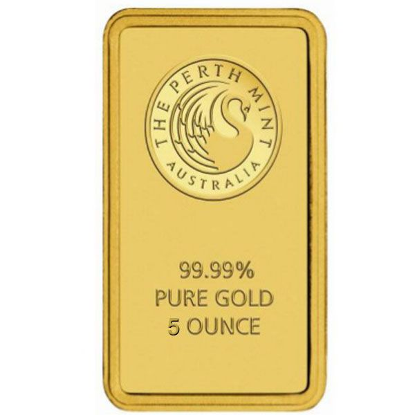 5 Oz Gold Bar Orted
