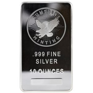 10 OZ SILVER SUNSHINE MINTING BAR
