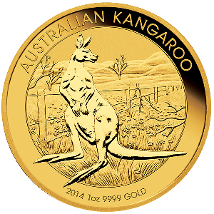 1 OZ KANGAROO COMMON DATE