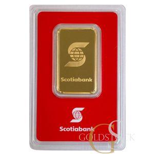 GOLD 1 OZ SCOTIABANK BAR