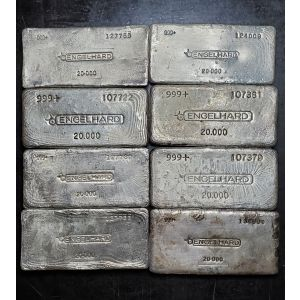 ENGELHARD 20oz VINTAGE POURED BAR BATCH