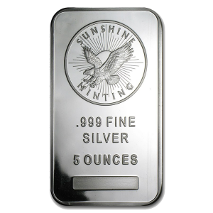 silver-5-oz-sunshine-mint-bar-front