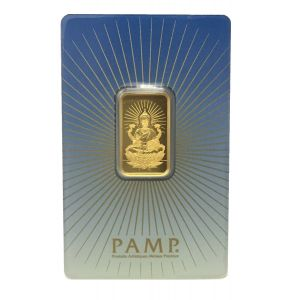Gold 5 Gram Pamp Suisse Laxmi Bar