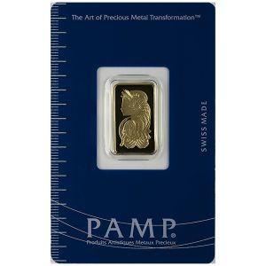 2.5 GRAM GOLD BAR front