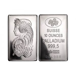 10 OZ PALLADIUM BAR - PAMP SUISSE OR SIMMILER BRAND