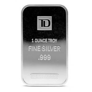 Silver 1 OZ TD Bank