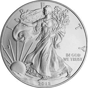 1 OZ SILVER AMERICAN EAGLE COIN