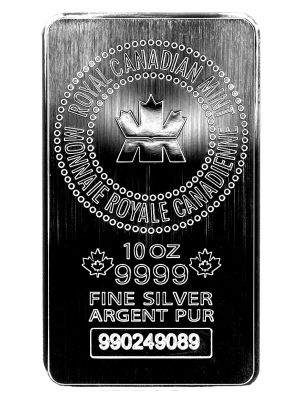 10 OZ RCM SILVER SILVER BAR