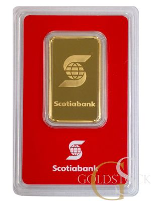 GOLD 1 OZ SCOTIABANK BAR