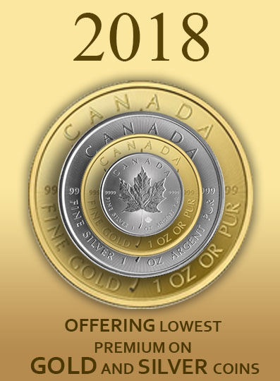 Buy Gold in Canada - Buy Gold Bars & Coins, Silver Bullion